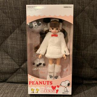 SNOOPY - PEANUTS × リカちゃん 限定 2,000 スヌーピー  人形 ドール