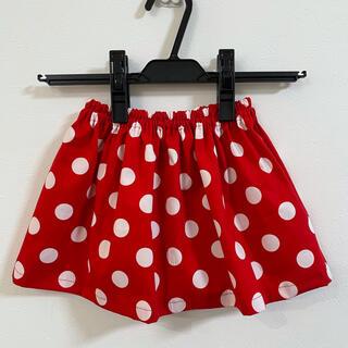80 ミニーちゃん ギャザースカート    (スカート)