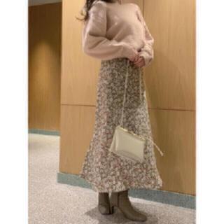 snidel - お値下げ♡値下げ交渉可♡バリエプリントナロースカート♡ミント
