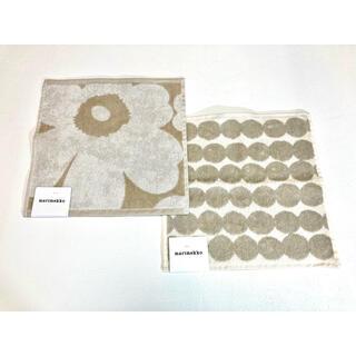 マリメッコ(marimekko)のマリメッコ タオルハンカチ2枚セット(タオル)