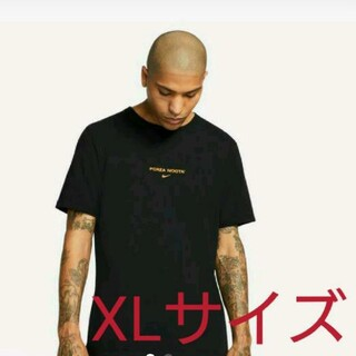 ナイキ(NIKE)のXL NIKE NOCTA ブラック トップ  tee Tシャツ(Tシャツ/カットソー(半袖/袖なし))