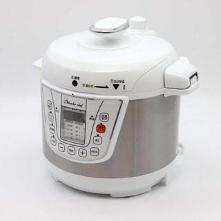 ワンダーシェフ(ワンダーシェフ)の楽ポン 家庭用マイコン電気圧力鍋(OEDC30)(調理機器)