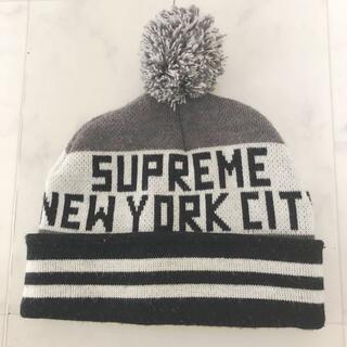 Supreme - レア!! シュプリーム ニット帽 ボンボン