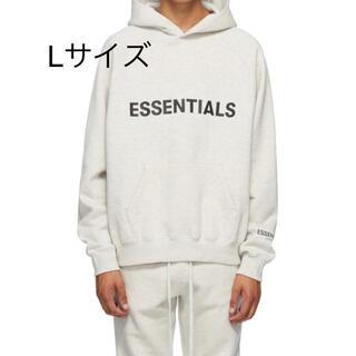 エッセンシャル(Essential)のessentials パーカー オートミール 送料込 エッセンシャルズ(パーカー)