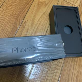 アップル(Apple)の美品 iPhone5  箱(iPhoneケース)