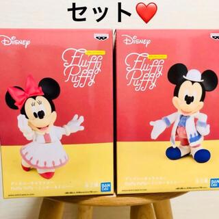 ディズニー(Disney)のディズニーキャラクター ミッキー&ミニ フィギュア  セット(アニメ/ゲーム)