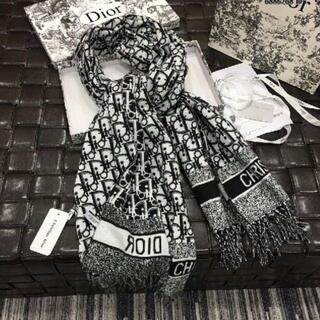 Christian Dior - クリスチャンディオール マフラー/ストール レディース★メンズ