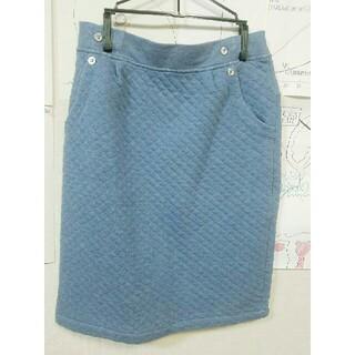 コムサイズム(COMME CA ISM)の(美品)コムサイズム 膝丈スカート(ひざ丈スカート)