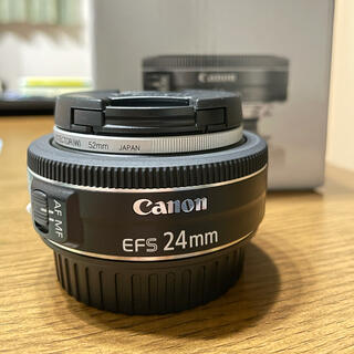 Canon - Canon EF-S24F2.8 STM ★美品★箱あり