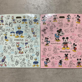 ディズニー(Disney)の【Disney】ミッキー&ミニー/ドナルド&デイジー シール(シール)