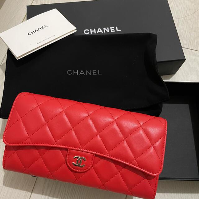 CHANEL(シャネル)のCHANEL シャネル 長財布 マトラッセ レディースのファッション小物(財布)の商品写真