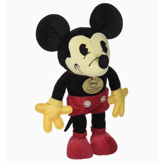 ミッキーマウス - ディズニー レトロミッキー ぬいぐるみ