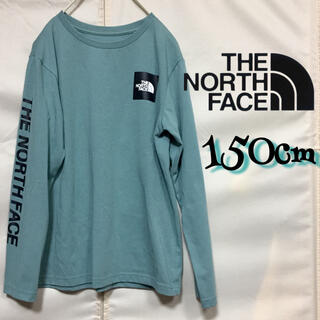 THE NORTH FACE - THE NORTH FACE ロングスリーブスクエアロゴティー トレリスグリーン