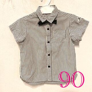 エフオーキッズ(F.O.KIDS)のアプレレクール ストライプシャツ 90(ブラウス)