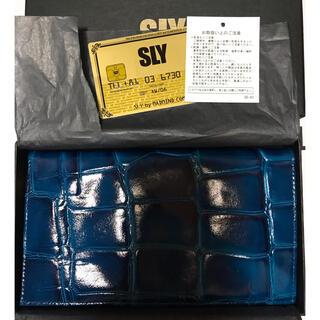 スライ(SLY)のSLY レザーウォレット 長財布(財布)