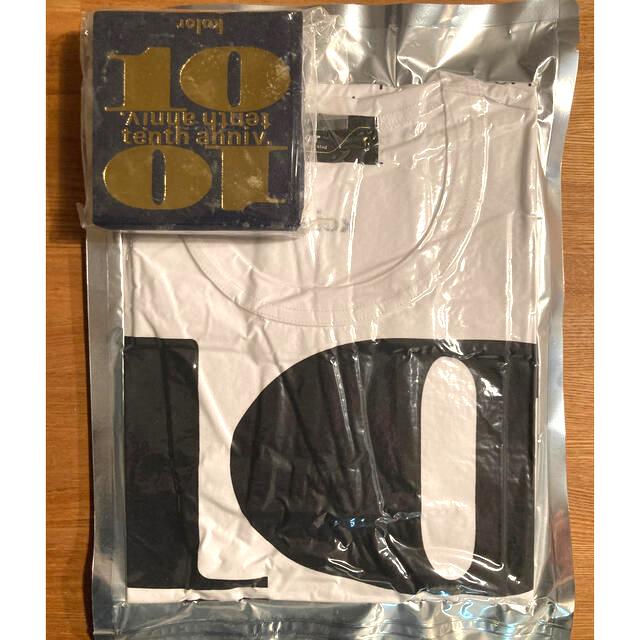 kolor(カラー)のKolor 10周年 Tシャツ ノベルティ 非売品 メンズのトップス(Tシャツ/カットソー(半袖/袖なし))の商品写真