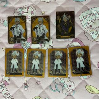 ディズニー(Disney)のツイステ ジャック メタルカード3 ウエハース(カード)