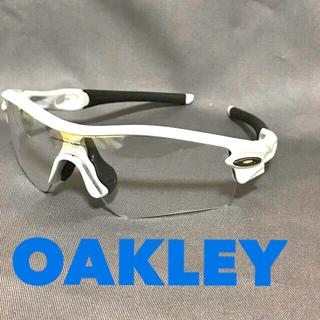 オークリー(Oakley)のオークリー Radar スポーツ サングラス 透明(その他)