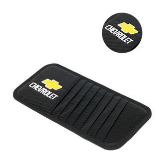 シボレーCHEVROLET-サンバイザー収納 カーボン調 バージョンアップモデル(車内アクセサリ)
