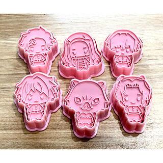 鬼滅の刃 クッキー型 6個セット