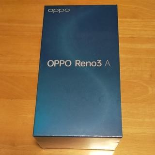 オッポ(OPPO)のOPPO Reno3 A Ymobile版 simロック解除済(スマートフォン本体)