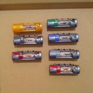 BANDAI - 獣電池 7ヶセット 中古品 獣電戦隊キョウリュウジャー