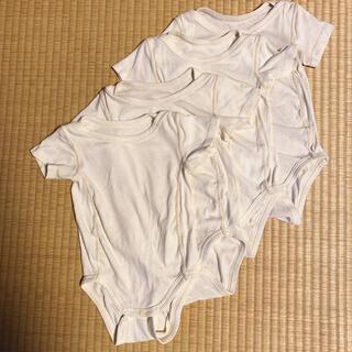 シャルレ(シャルレ)のシャルレ C1702 半袖ロンパース 4枚セット(ロンパース)