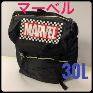 マーベル(MARVEL)のかぶせリュック バックパック MARVEL 30L 大容量 スポーツ アウトドア(バッグパック/リュック)