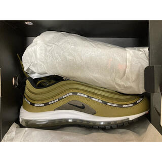 NIKE - NIKE AIR MAX 97 undefeated 28㎝ オリーブ