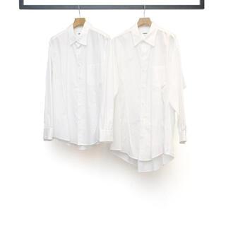 Yohji Yamamoto - sulvam 20ss stand collar shirts