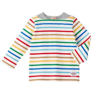 mikihouse - *新品未使用* ミキハウス ボーダー長袖Tシャツ 100