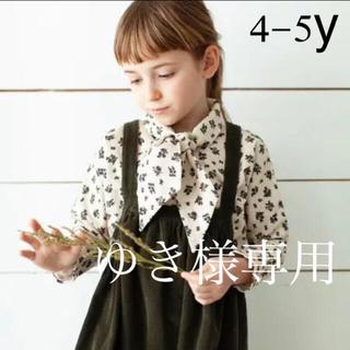Bonpoint - 美品‼️ SOOR PLOOM ivy blouse 4-5y 花柄ブラウス
