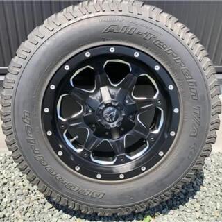 fuel wheel 17インチ タイヤセット(4本) 値下げ可