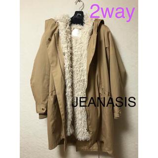 JEANASIS - ジーナシス モッズコート アウター ジャケット 2way スプリングコート