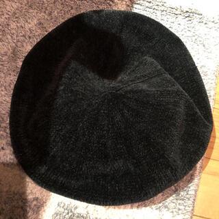 センスオブプレイスバイアーバンリサーチ(SENSE OF PLACE by URBAN RESEARCH)のsense of place センスオブプレイス ベレー帽 ブラック(ハンチング/ベレー帽)