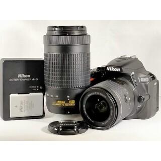 Nikon - 【新品級!保証付き!!】Nikon D5600 ダブルズームキット