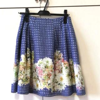 トッカ(TOCCA)のTOCCA ( トッカ オンワード) 春夏物花柄スカート Mサイズ(ひざ丈スカート)