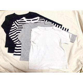ムジルシリョウヒン(MUJI (無印良品))の【無印良品】Tシャツ 5点セット まとめ(Tシャツ/カットソー)