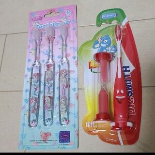 ディズニー(Disney)の歯ブラシセット(ディズニー プリンセス3本&ドクタースミス1本 砂時計付き)(歯ブラシ/歯みがき用品)