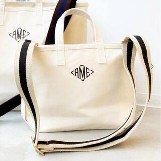 アパルトモンドゥーズィエムクラス(L'Appartement DEUXIEME CLASSE)のAMERICANA/アメリカーナ AME Tote Bag Mini ブラウン(トートバッグ)