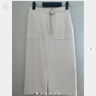 ノーリーズ(NOLLEY'S)の☆タグ付☆【NOLLEY'S】ノーリーズ オフホワイト スカート(ひざ丈スカート)