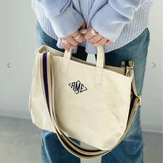 アパルトモンドゥーズィエムクラス(L'Appartement DEUXIEME CLASSE)のAMERICANA/アメリカーナ AME Tote Bag Mini ネイビー(トートバッグ)