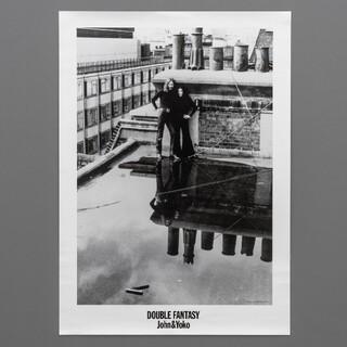 ジョンレノン展ポスターHeadquarters Rooftop(写真)