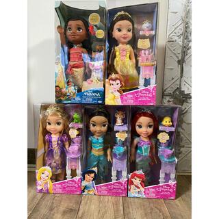 ディズニー(Disney)の新品ディズニープリンセス トドラードール プリンセスドール 5体セット(ぬいぐるみ/人形)