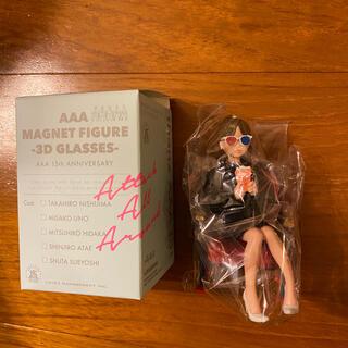 トリプルエー(AAA)のAAA  マグネットフィギュア 3D サングラス 宇野実彩子(ミュージシャン)