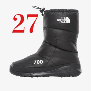 THE NORTH FACE - 海外限定 27cm NUPTSE BOOTIE ヌプシダウンブーティ ブーツ