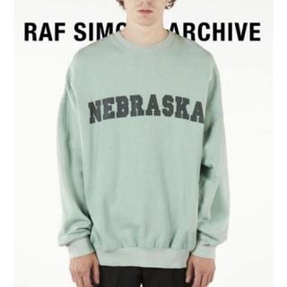 RAF SIMONS - RAF SIMONS Sweater wit Nebraska print