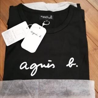 agnes b. - アニエスベーオム tシャツ ブラック