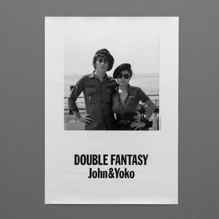 ジョンレノンJohn & Yoko展オフィシャルポスターバッテリーパーク(写真)