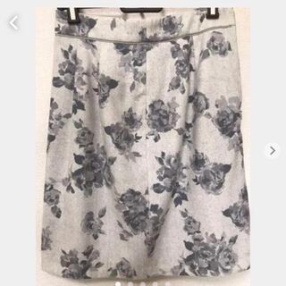 プロポーション(PROPORTION)のPROPORTIONの花柄スカート(ひざ丈スカート)